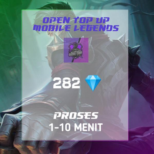 282 Diamonds Mobile Legends