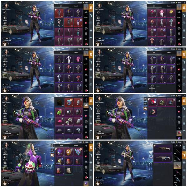 M416 Joker Lvl 4 | |S12 Conqueror | 43 Set Baju