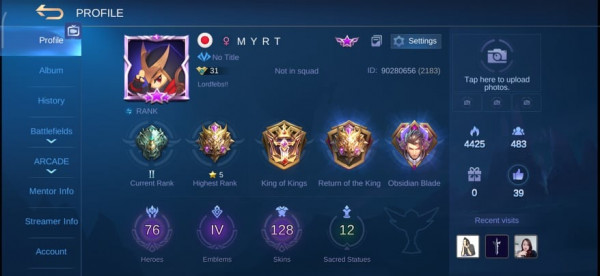 LEGEND ALUCARD, LIMIT MOSKOV 3 EPIC SKIN 128