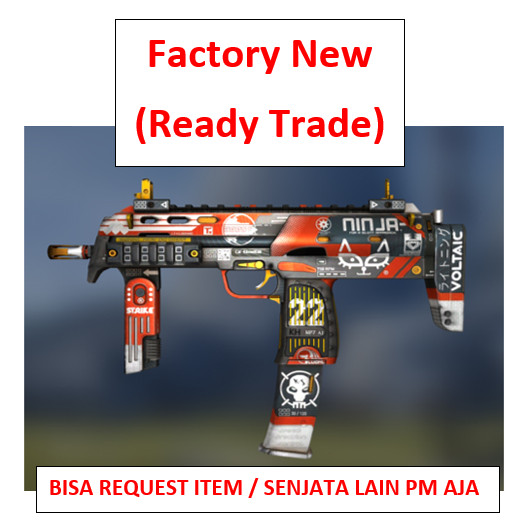 MP7 | Bloodsport FN | Ready Trade