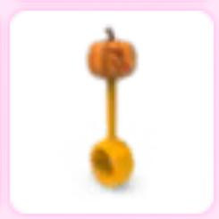 Pumpkin Rattle (Old Toys) - Adopt Me