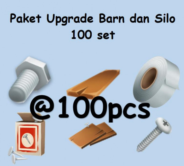 Paket upgrade barn & silo 100 set