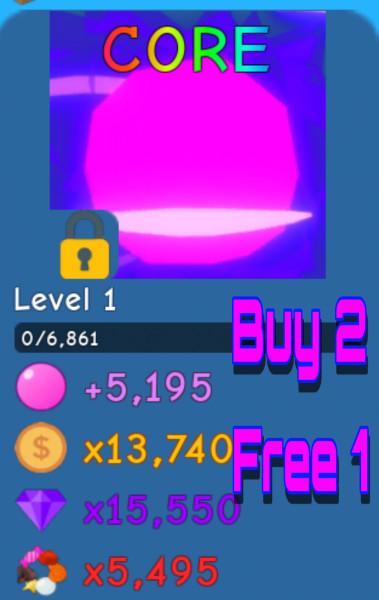 Core   Bubble Gum Simulator