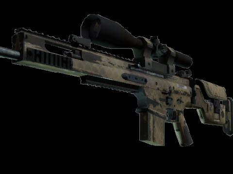 SCAR-20   Sand Mesh (Consumer Grade Sniper Rifle)