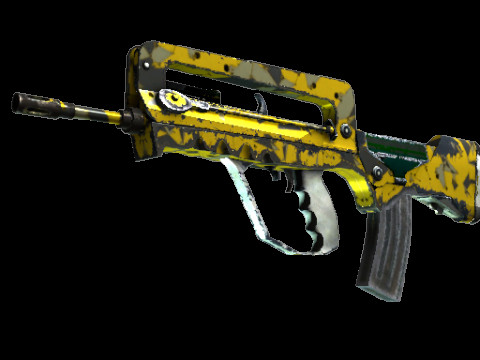 FAMAS | Neural Net (Restricted Rifle)