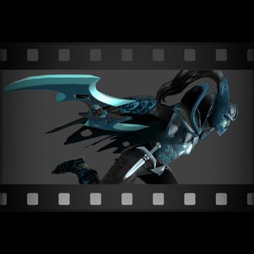 Taunt: Deadly Grace (Phantom Assassin Taunt)