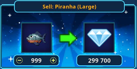999 Piranha (Large)