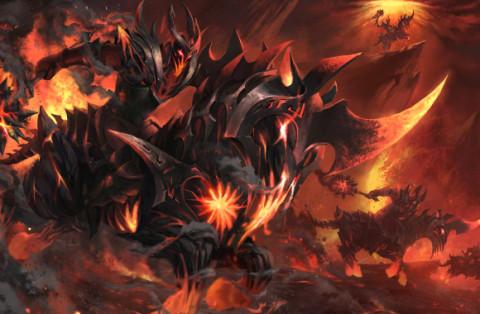 Burning Nightmare (Chaos Knight Set)
