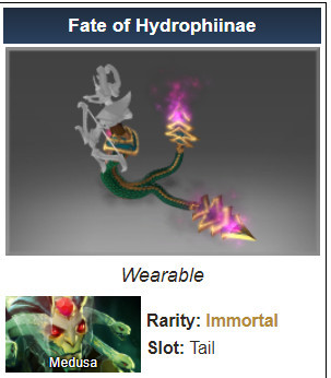 Fate of Hydrophiinae (Immortal TI10 Medusa)