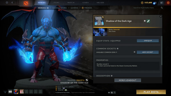 Shadow of the Dark Age (Immortal Night Stalker)