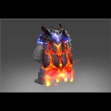 Mantle of the Cinder Baron (Style Unlock)