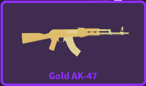 Mythical Gold AK-47 - Zombie Stories