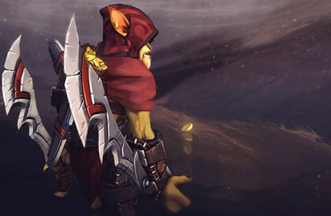 Twin Blades Assassin (Bounty Hunter Set)