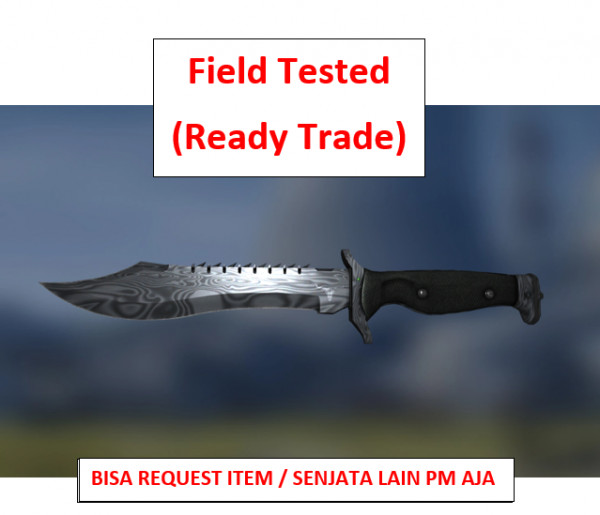 Bowie Knife | Damascus Steel FT | Ready Trade