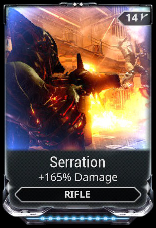 Serration Mod Full Upgrade