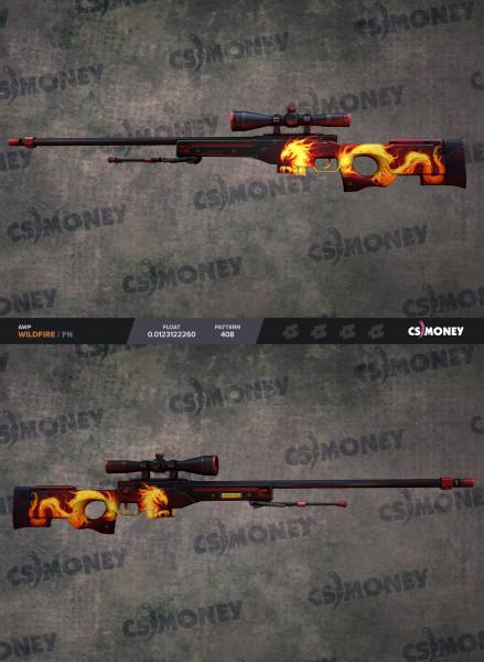 AWP | Wildfire (Covert Sniper Rifle)