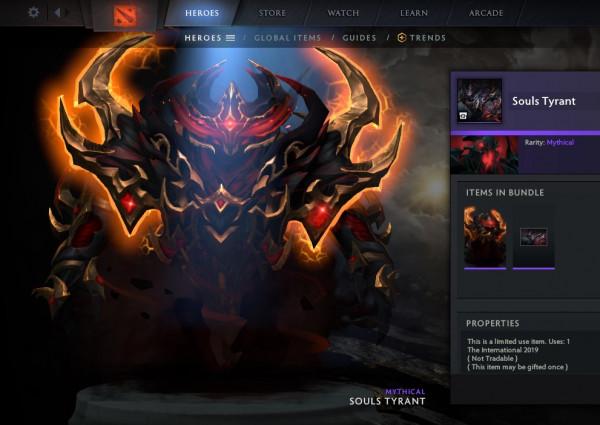 Souls Tyrant (CC TI9 Shadow Fiend)