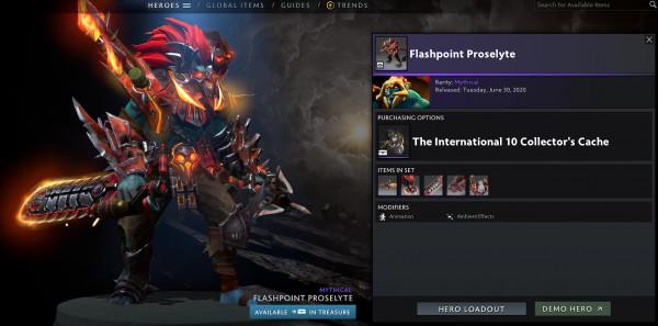 Flashpoint Proselyte (Huskar Set TI10)