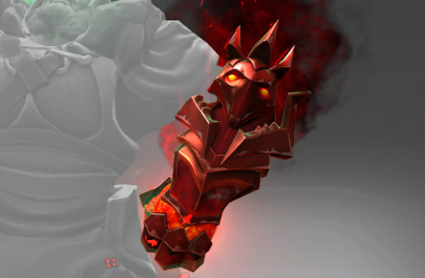 Genuine Blistering Shade of the Crimson Witness