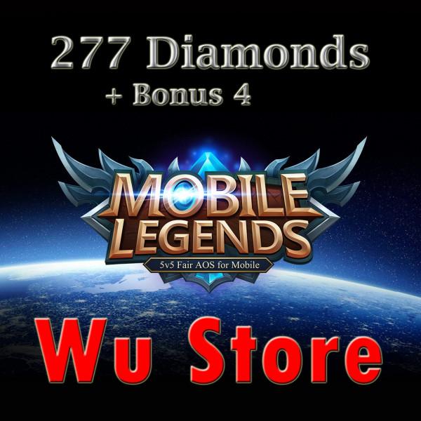 Top Up 277 Diamonds