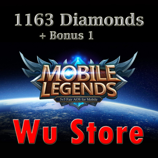 Top Up 1163 Diamonds