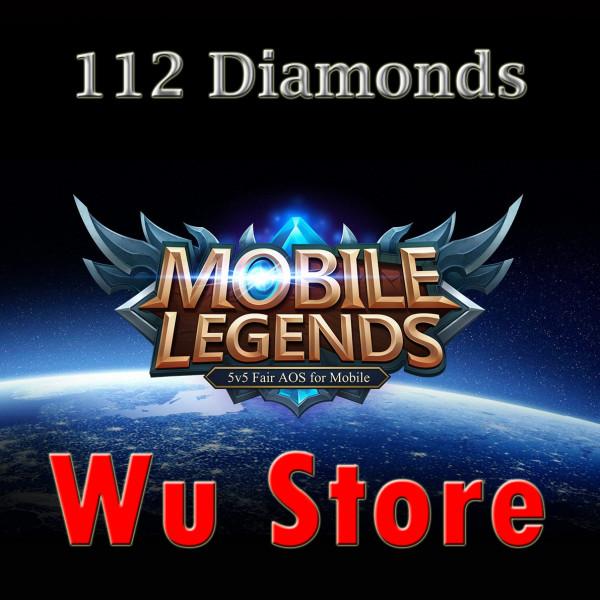 Top Up 112 Diamonds