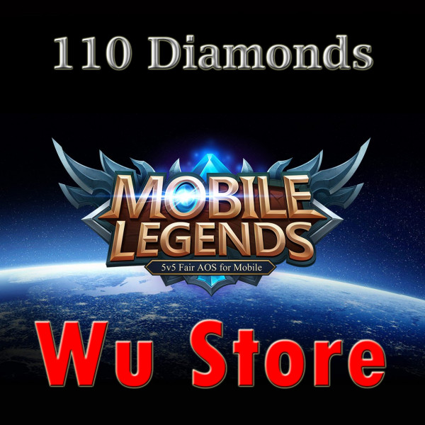 (iOS&Android) Top Up 110 Diamonds