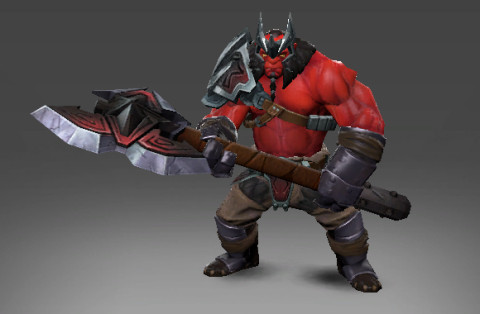 The Red Conqueror Set (Axe Set)