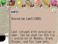 Evolution leaf 100% evo leaf