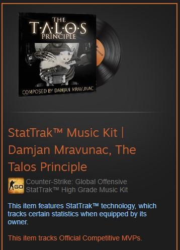 StatTrak™ Music Kit | Damjan Mravunac, The Talos P