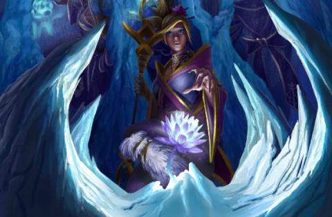 Icebound Floret (Crystal Maiden)