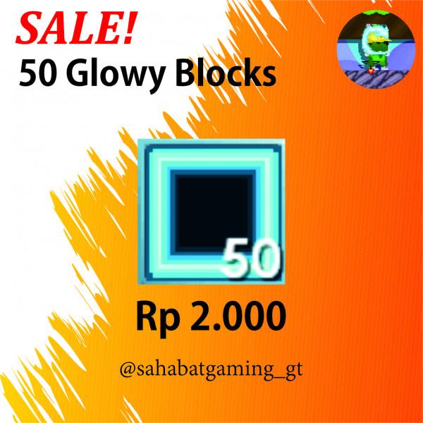 50 Glowy Blocks