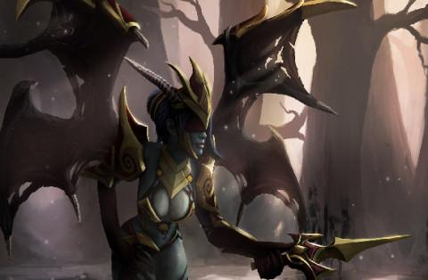 Delightful Affliction (Queen of Pain Set)