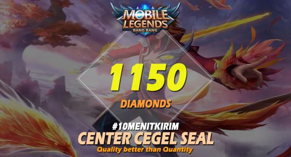 Top Up 1150 Diamonds