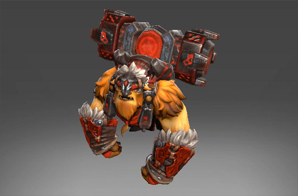 Guardian of the Red Mountain (Earthshaker Set)