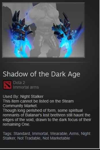 Shadow of the Dark Age(Night Stalker Immortal)