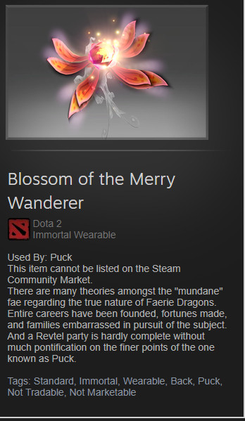 Blossom of the Merry Wanderer(Puck Immortal)