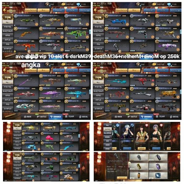 Akun game crisis action darkM39+3M