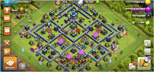 TH13 HERO 75-75-50-20 TROOPS GG BH MLM MAX