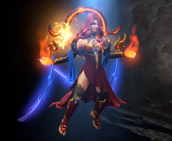Lina - Glory of the Elderflame