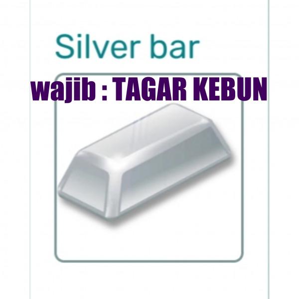 Perak batangan / silver bar