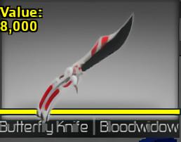 Butterfly Knife Bloodwidow (Counter Blox)