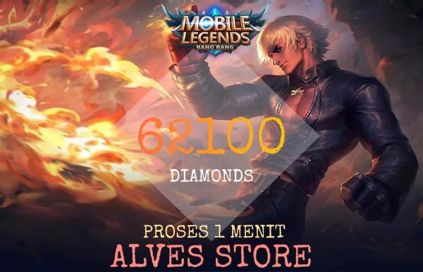 62100 Diamonds