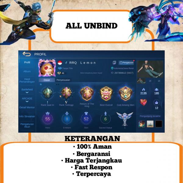 Akun Mobile Legend Sultan   Murah   23