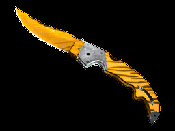 StatTrak Falchion Knife Tiger Tooth Factory New