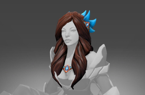 Darkfall Warden Hair (Mirana Set)