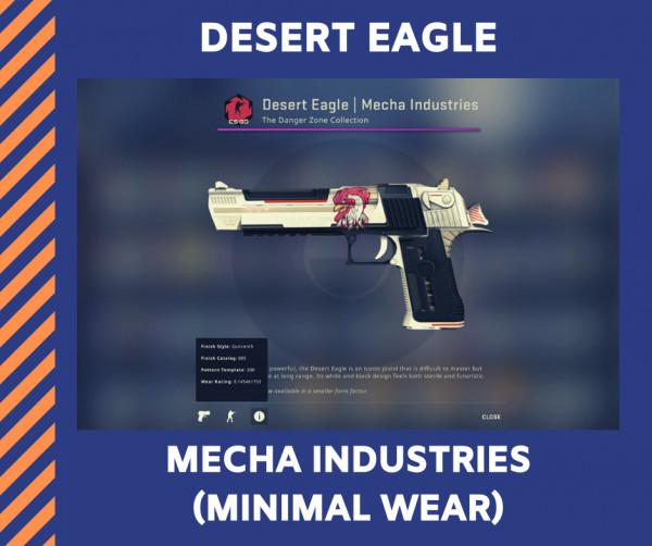 Desert Eagle | Mecha Industries (Minimal Wear)