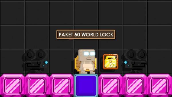 Paket 50 World Lock MURAH