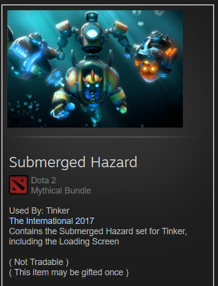 Submerged Hazard (Tinker Set)