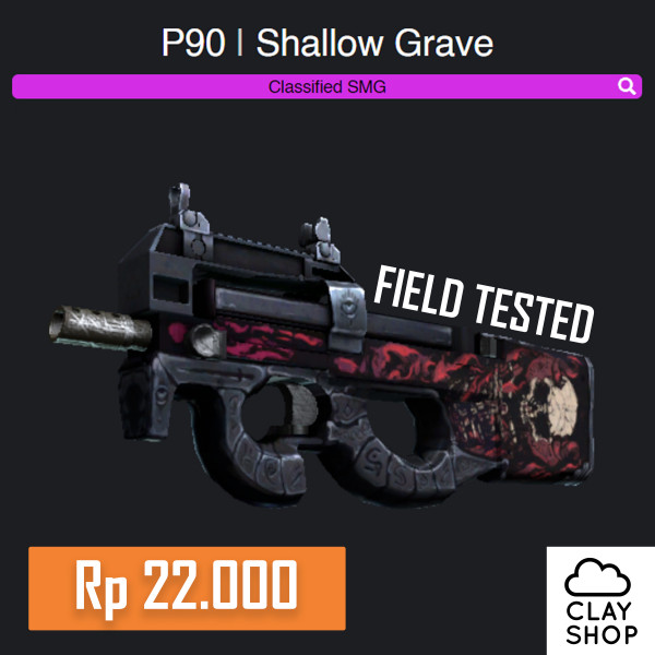 P90 | Shallow Grave (Classified SMG)